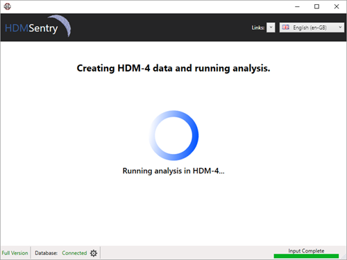 HDM-Sentry - running the analysis
