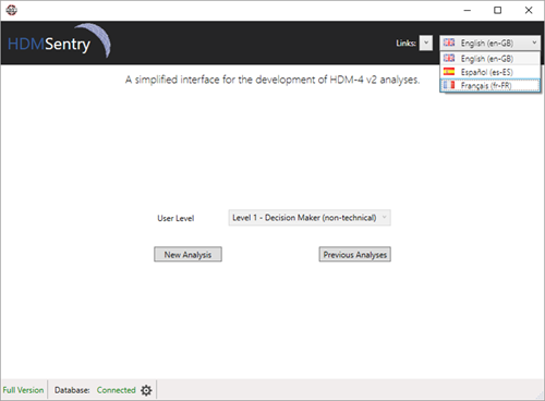 HDM-Sentry - Customisation – Language Support